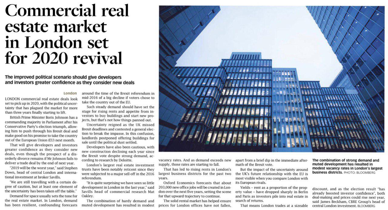 commercial-real-estate-market-in-london-set-for-2020-revival