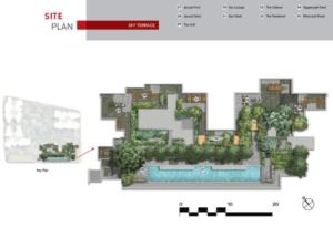 the-m-condo-site-plan-sky-terrace-singapore